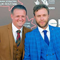 Edinburgh International Film Festival, Saturday, 24 June 2018<br /> <br /> STEEL COUNTRY (WORLD PREMIERE)<br /> <br /> Pictured:  Scott Kyle and David Elliot<br /> <br /> (c) Alex Todd   Edinburgh Elite media