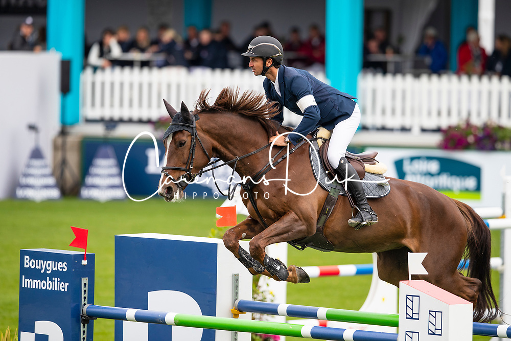 Guerdat Steve, SUI, Flair<br /> Jumping International de La Baule 2019<br /> © Hippo Foto - Dirk Caremans<br /> Guerdat Steve, SUI, Flair