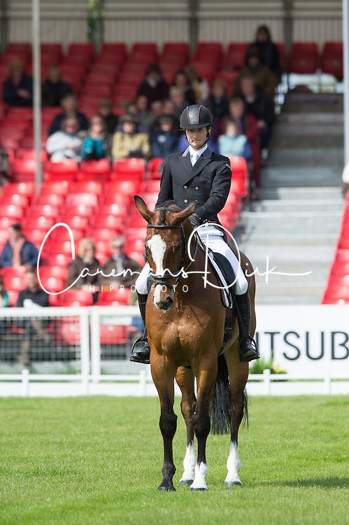 Sims Paul, (GBR), Glengarnock<br /> Dressage <br /> Mitsubishi Motors Badminton Horse Trials - Badminton 2015<br /> &copy; Hippo Foto - Jon Stroud<br /> 07/05/15