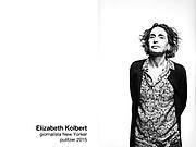 Elizabeth Kolbert, giornalista New Yorker e premio Pulitzer 2015.