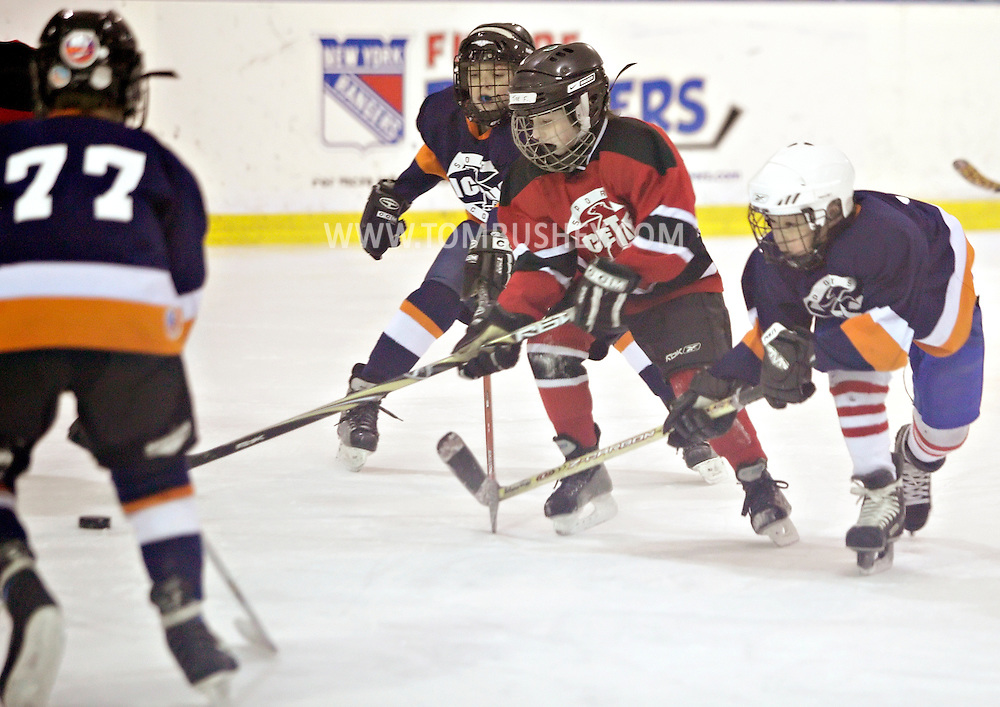 Newburgh, New York - The Devils play the Islanders in the championship hockey game at Ice Time Sports Complex on March , 2011.