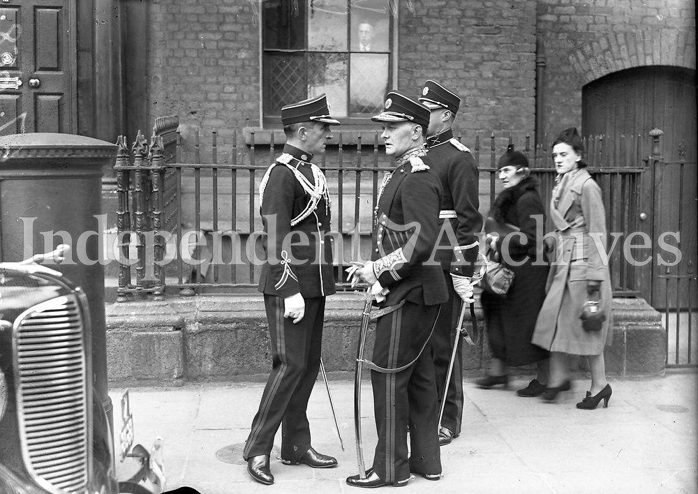 Inauguration of Douglas Hyde as President of Ireland, 26/6/1938 (Part of the Independent Newspapers Ireland/NLI Collection).
