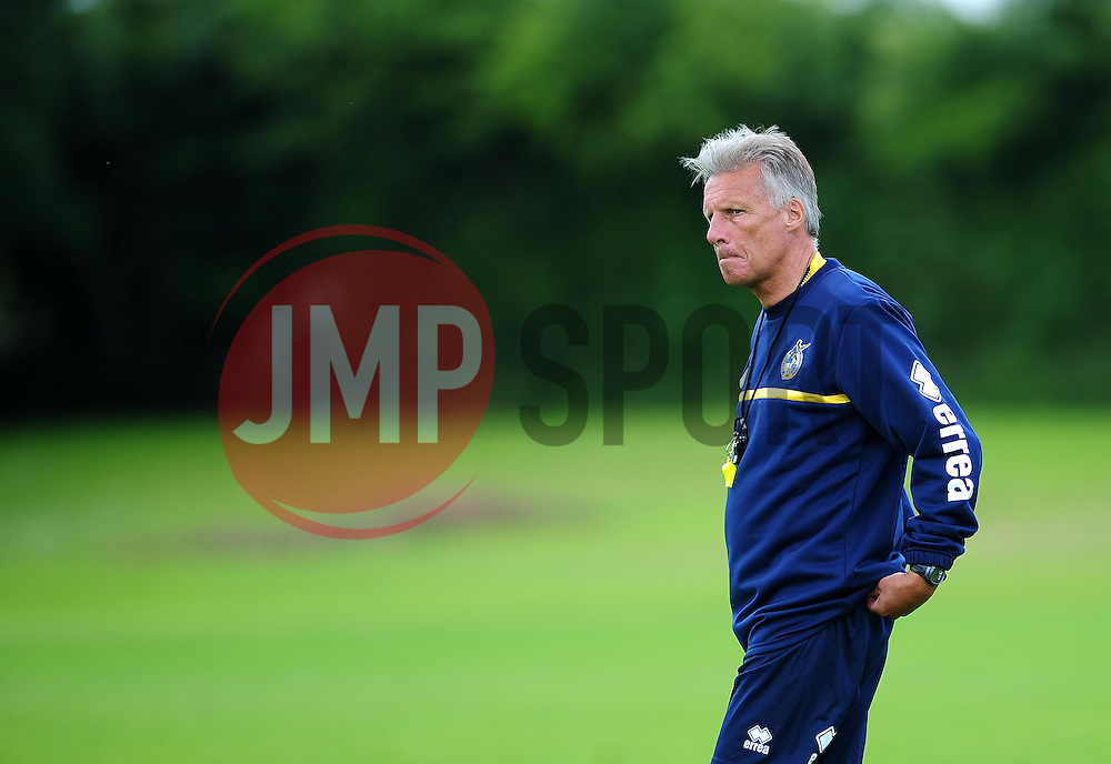Bristol Rovers' manager, John Ward - Photo mandatory by-line: Dougie Allward/JMP - Tel: Mobile: 07966 386802 24/06/2013 - SPORT - FOOTBALL - Bristol -  Bristol Rovers - Pre Season Training - Npower League Two