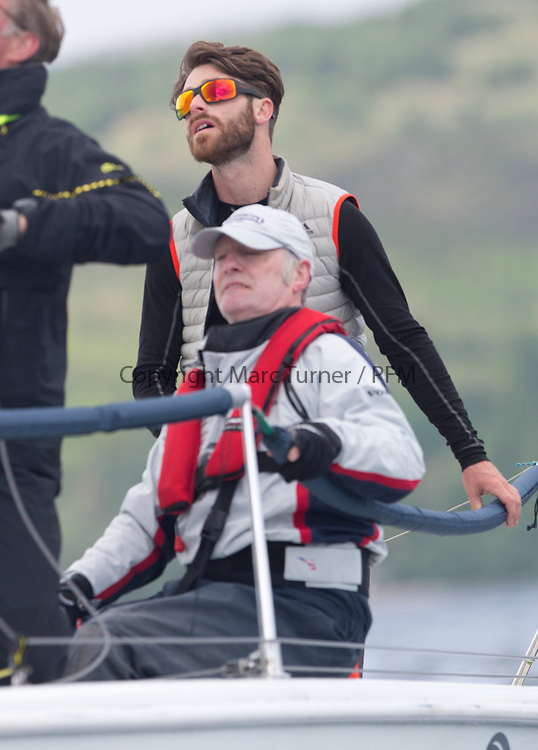 Silvers Marine Scottish Series 2017<br /> Tarbert Loch Fyne - Sailing<br /> <br /> GBR7031N, CRHU, Neill Ross, RNCYC, Hunter 707 OD<br /> <br /> Credit: Marc Turner / CCC