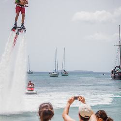 Flyboarding in Water Island