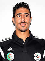 Confederation of African Football - World Cup Fifa Russia 2018 Qualifier / <br /> Algeria National Team - Preview Set - <br /> Baghdad Bounedjah