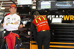 July 21, 2018 - Loudon, New Hampshire, United States of America - Jamie McMurray (1) gets ready to practice for the Foxwoods Resort Casino 301 at New Hampshire Motor Speedway in Loudon, New Hampshire. (Credit Image: © Stephen A. Arce/ASP via ZUMA Wire)