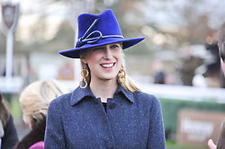 LADY GABRIELLA WINDSOR at the 2012 Hennessy Gold Cup at Newbury Racecourse, Berkshire on 1st December 2012