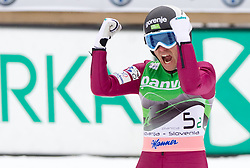 Jernej Damjan of Slovenia during Flying Hill Team at 3rd day of FIS Ski Jumping World Cup Finals Planica 2011, on March 19, 2011, Planica, Slovenia. (Photo by Vid Ponikvar / Sportida)