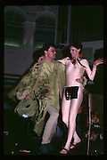 Paul Newman and Caroline Brown at Piers Gaveston Ball. Oxford Town Hall. 1981 approx© Copyright Photograph by Dafydd Jones 66 Stockwell Park Rd. London SW9 0DA Tel 020 7733 0108 www.dafjones.com