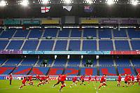 Rugby Union - 2019 Rugby World Cup - Wales Training Captain's Run pre-Semi-Final <br /> <br /> Welsh team training at International Stadium Yokohama, Kanagawa Prefecture, Yokohama City.<br /> <br /> COLORSPORT/LYNNE CAMERON