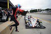 October 1- 3, 2015: Road Atlanta, Petit Le Mans 2015. Andrew Palmer, PR1 Mathiasen Oreca