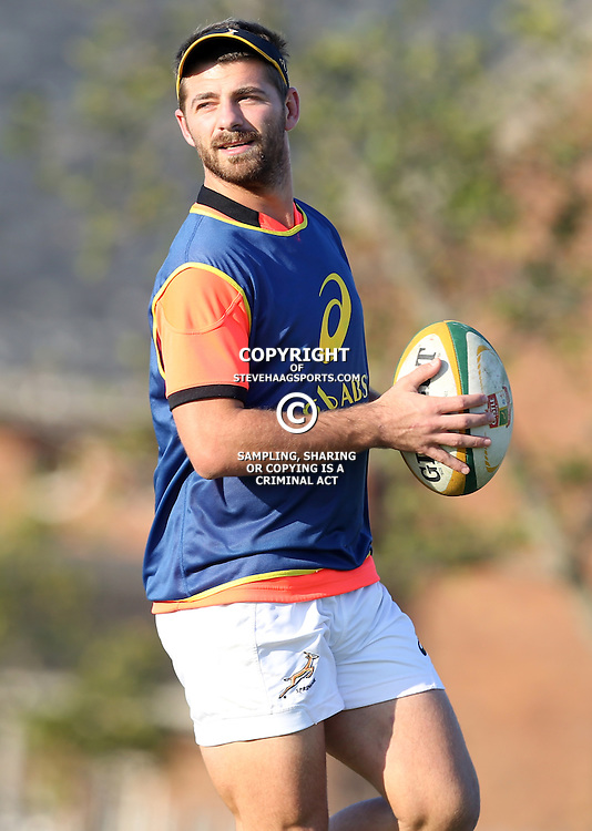 PORT ELIZABETH, SOUTH AFRICA - JUNE 23: Willie le Roux of South Africa during the South African National rugby team training session at Nelson Mandela Bay Stadium on June 23, 2014 in Port Elizabeth, South Africa. (Photo by Steve Haag/Gallo Images)