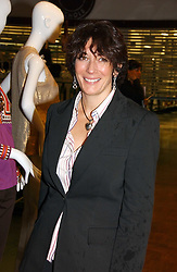 24 May 2006 - GHISLAINE MAXWELL at a party hosted by Elizabeth Saltzman and Harvey Nichols to celebrate the UK launch of New York fashion designer Tory Burch held at the Fifth Floor Restaurant, Harvey Nichols, Knightsbridge, London on 24th May 2006.<br /> <br /> Photo by Dominic O'Neill/Desmond O'Neill Features Ltd.  +44(0)1306 731608  www.donfeatures.com
