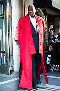 Andre Leon Talley at the Met Gala 2015