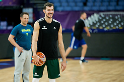 Goran Dragic of Slovenia at training session during of the FIBA EuroBasket 2017 at Hartwall Arena in Helsinki, Finland on September 4, 2017. Photo by Vid Ponikvar / Sportida