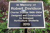 Davidson Garden Dedication - June 12, 2014