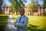 Christopher Howard, President of Hampden-Sydney College on the campus May 22, 2015. Photo by Justin Ide