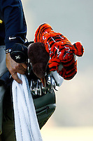 14 December 2007: Pro PGA golfer Tiger Woods golf bag and clubs in the ninth annual Target World Challenge golf tournament presented by the Tiger Woods Foundation at Sherwood Country Club in Thousand Oaks Westlake Village in Southern California.