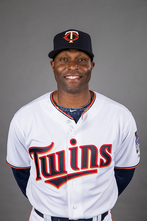 MINNEAPOLIS, MN- DECEMBER 03: Torii Hunter #48 of the Minnesota Twins poses for a photo on December 3, 2014 at Target Field in Minneapolis, Minnesota. (Photo by Brace Hemmelgarn) *** Local Caption *** Torii Hunter