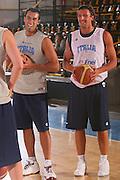 DESCRIZIONE : Bormio Raduno Collegiale Nazionale Maschile Allenamento <br /> GIOCATORE : Tommaso Fantoni Luca Infante <br /> SQUADRA : Nazionale Italia Uomini <br /> EVENTO : Raduno Collegiale Nazionale Maschile <br /> GARA : <br /> DATA : 22/07/2008 <br /> CATEGORIA : Ritratto <br /> SPORT : Pallacanestro <br /> AUTORE : Agenzia Ciamillo-Castoria/S.Silvestri <br /> Galleria : Fip Nazionali 2008 <br /> Fotonotizia : Bormio Raduno Collegiale Nazionale Maschile Allenamento <br /> Predefinita :