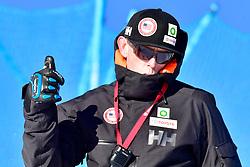 Behind the scenes, Slalom at the WPAS_2019 Alpine Skiing World Cup, La Molina, Spain