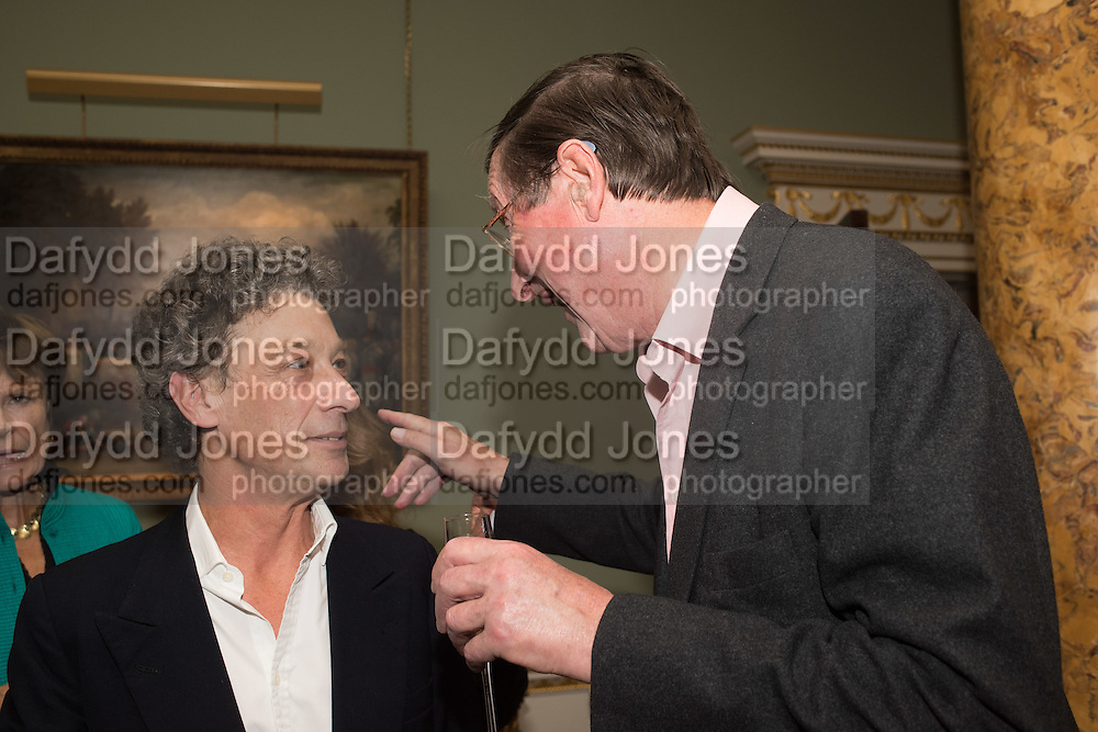 COUNT ADAM ZAMOSKI; SIR MAX HASTINGS, Everyman 25th Anniversary party, Spencer House. St. James' Place. London. SW1. 26 October 2016