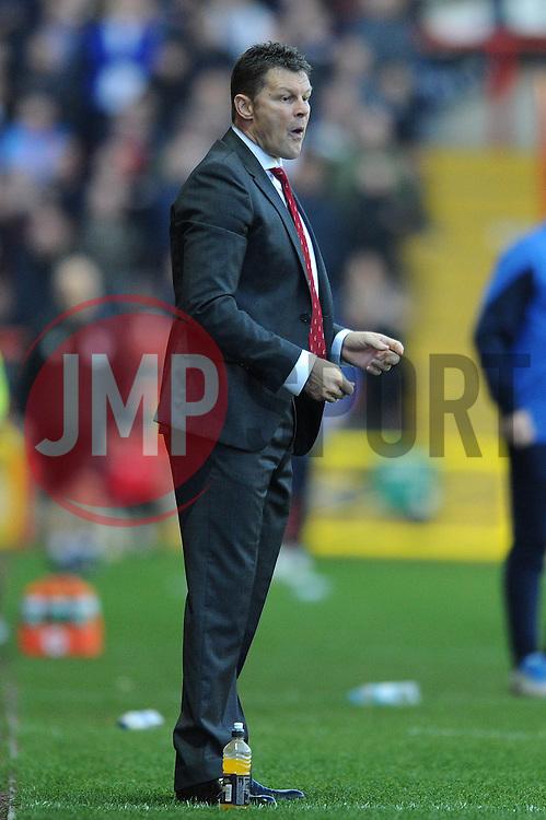 Bristol City manager, Steve Cotterill - Photo mandatory by-line: Dougie Allward/JMP - Mobile: 07966 386802 - 22/11/2014 - Sport - Football - Bristol - Ashton Gate - Bristol City v Preston North End - Sky Bet League One