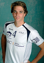 08-10-2009 VOLLEYBAL: PHOTOSHOOT SSS: BARNEVELD<br /> Photoshoot SSS A League seizoen 2009 - 2010 / Thijs Pietersen<br /> ©2009-WWW.FOTOHOOGENDOORN.NL