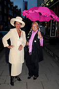 MAGGIE STEED; ROSI BOWMAN, The Pimlico Road Summer party. London SW1. 9 June 2009