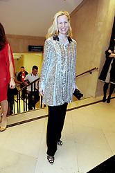 ALANNAH WESTON at the 2008 British Fashion Awards held at the Lawrence Hall, Westminster, London on 25th November 2008.