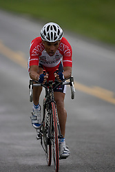 Franklin Burgos (GSM) during stage 1 of the Tour of Virginia.  The Tour of Virginia began with a 4.7 mile individual time trial near Natural Bridge, VA on April 24, 2007. Formerly known as the Tour of Shenandoah, the ToV has gained National Race Calendar (NRC) status for the first time in its five year history.