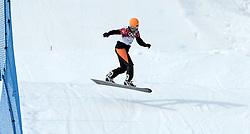 14-02-2014 SNOWBOARDEN: OLYMPIC GAMES: SOTSJI<br /> Training van Bell Berghuis<br /> ©2014-FotoHoogendoorn.nl