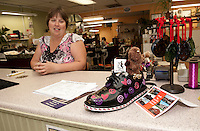Laconia's Downtown Still Has Sole event with shoes on display at local businesses  June 24, 2011.
