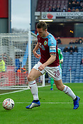 Burnley defender Kevin Long (28) during the The FA Cup 3rd round match between Burnley and Barnsley at Turf Moor, Burnley, England on 5 January 2019.