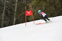 KHOROSHEVA Anastasiia LW9-2 NPA at 2018 World Para Alpine Skiing Cup, Kranjska Gora, Slovenia