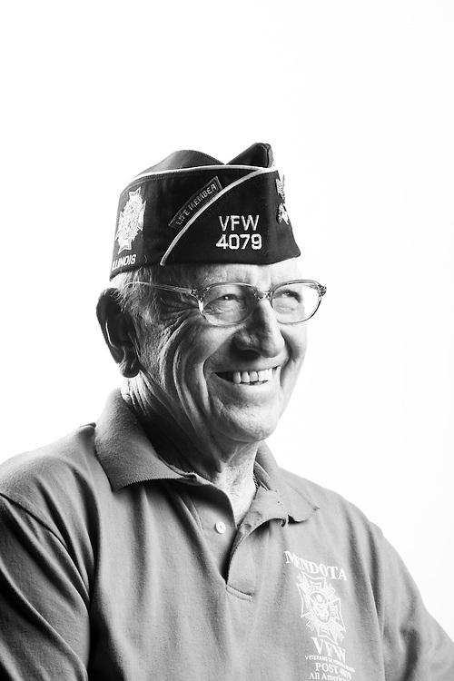 Daniel J. Flanagan<br /> Army<br /> E-4<br /> Artillery<br /> Mar. 1953 - Dec. 1954<br /> Korea<br /> <br /> Veterans Portrait Project<br /> St. Louis, MO