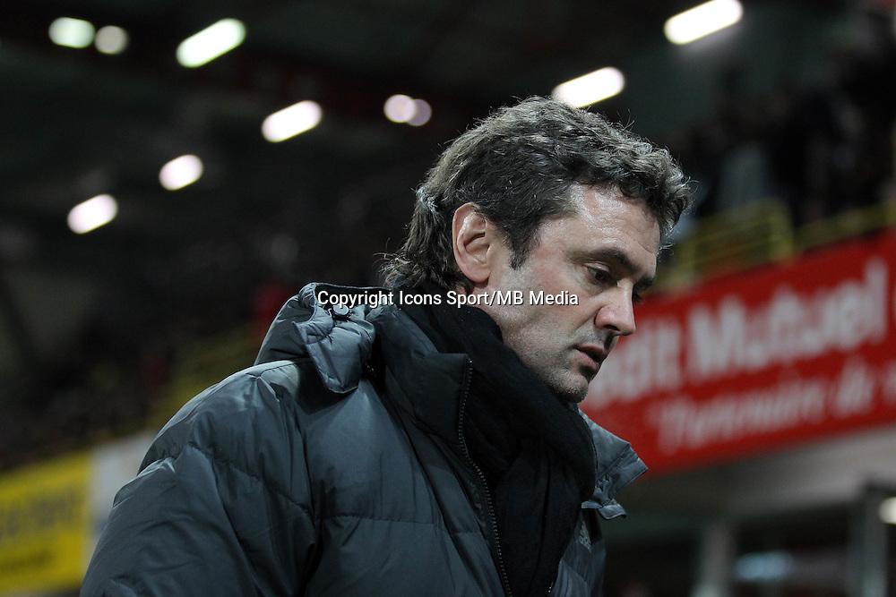 Sylvain RIPOLL  - 24.01.2015 - Guingamp / Lorient - 22eme journee de Ligue1<br />Photo : Vincent Michel / Icon Sport *** Local Caption ***