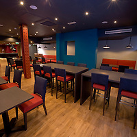 Russells Construction. Interior of the Park Inn, West George Street, Glasgow. Picture and copyright CookseyPix.com