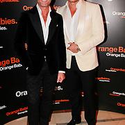 NLD/Noordwijk/20110625 - Orange Babies Gala 2011, Leco van Zadelhof en partner Rob Sintenie