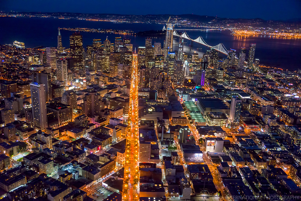 Market Street Illuminated, San Francisco