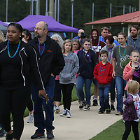 Many people came out Saturday to participate in the 5th annual Out of the Darkness Walk