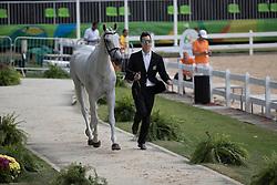 Price Tim, NZL, Ringwood Sky Boy<br /> Final Horse inspection Eventing<br /> Olympic Games Rio 2016<br /> © Hippo Foto - Dirk Caremans<br /> 09/08/16