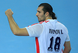 Roman Ivanov (18) of Russia during 21st Men's World Handball Championship preliminary Group C match between Algeria and Russia, on January 21, 2009, in Arena Varazdin, Varazdin, Croatia. (Photo by Vid Ponikvar / Sportida)