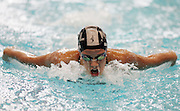 Cara Baker competes in the Women's 400m Individual Medley heat at the New Zealand Swimming World Championship Trials at the West Aquatic Centre, Auckland, New Zealand, on Tuesday 12 December 2006. Photo: Hannah Johnston/PHOTOSPORT<br /><br /><br />121206