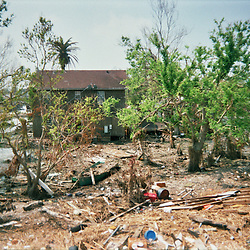 Scenes of devastation left in the aftermath of Hurricane Katrina that flooded the small city of Buras, Louisiana in Plaquemines Parish on August 29, 2005. ..(Mandatory Credit: Photo by Derick E. Hingle)