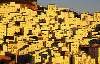 Casares, a typical white village (pueblo blanco) in Andalucia, Spain