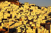 Casares, a typical white village (pueblo blanco) in Andalucia, Spain