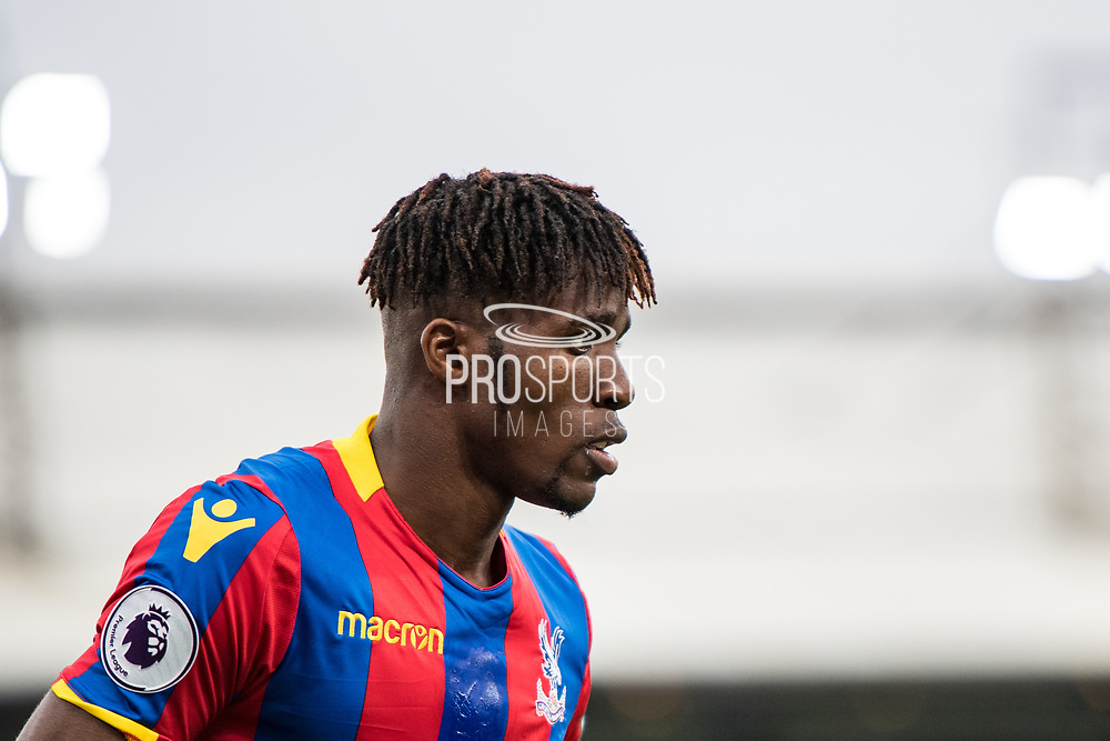Crystal Palace #11 Wilfried Zaha during the Premier League match between Crystal Palace and Chelsea at Selhurst Park, London, England on 14 October 2017. Photo by Sebastian Frej.