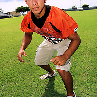 High school football player from Orange Grove, Texas.